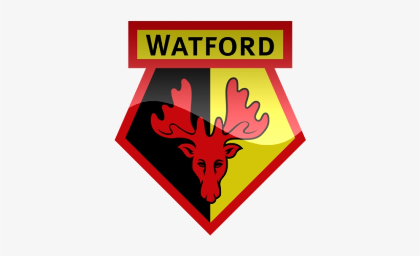 Top 10 Premier League Teams With The Most Wins - Watford Logo Hd Png