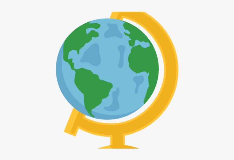 Globe cute. Clipart transparent png x