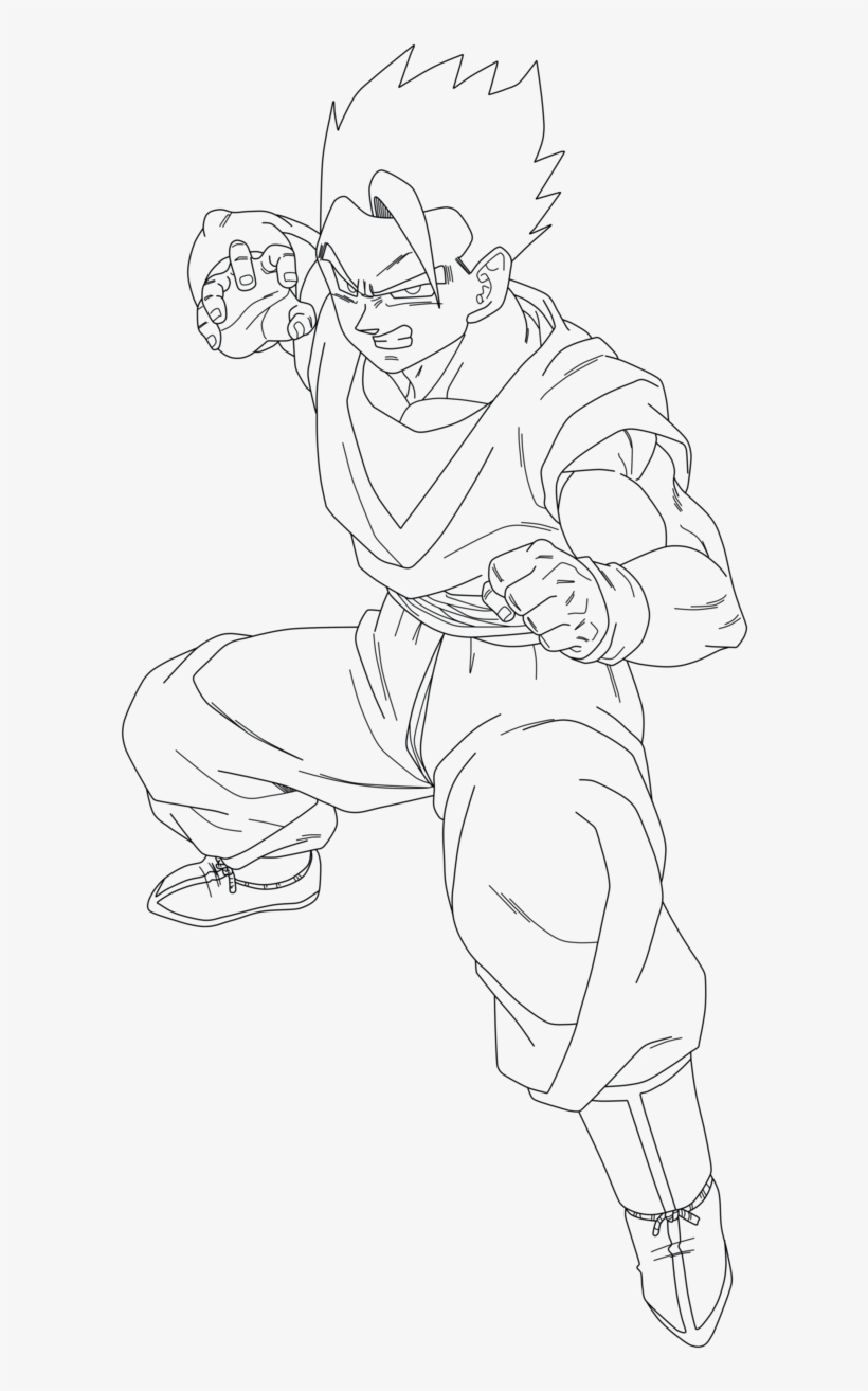 Ultimate Gohan Drawing Download - Mystic Gohan Coloring ...