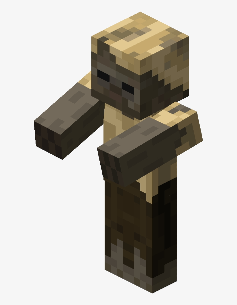 Minecraft Baby Zombie Husk Transparent PNG - 10x10 - Free