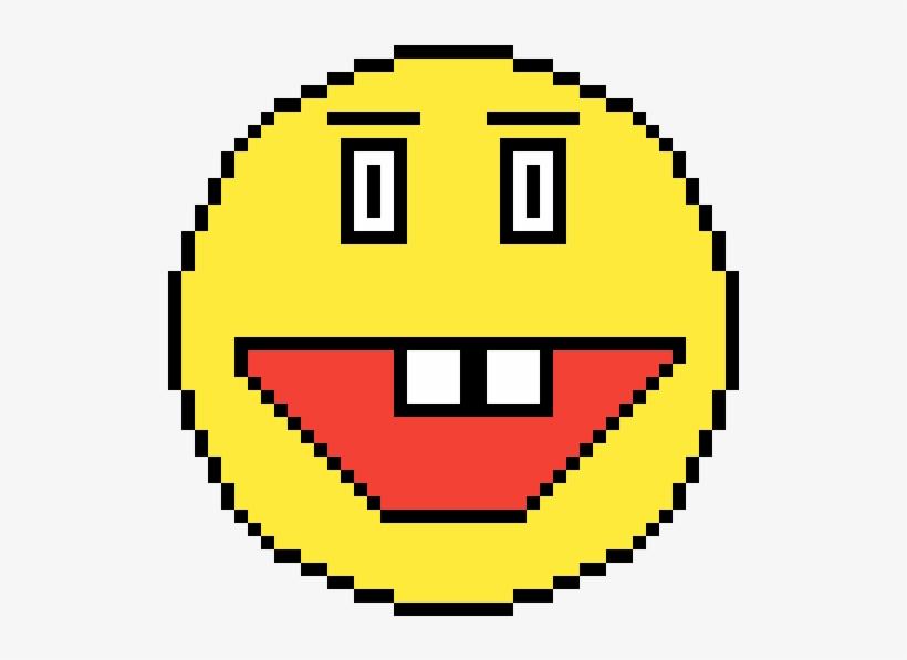 Emoji Face Xd Pixelated Circle Transparent Png 1200x1200