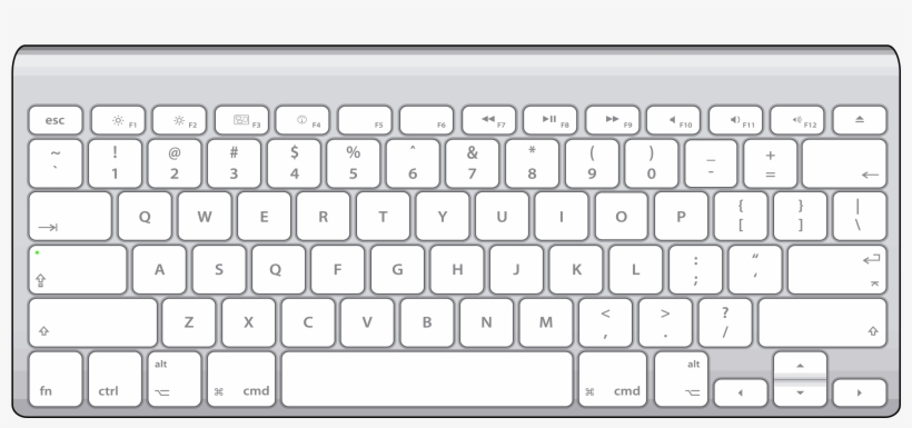 Teclado Apple Wireless Keyboard Transparent Png 3508x2480 Free Download On Nicepng