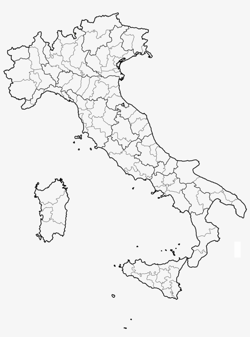 Map Of Provinces Of Italy.Italy Map With Provinces Italy Map Provinces Transparent Png