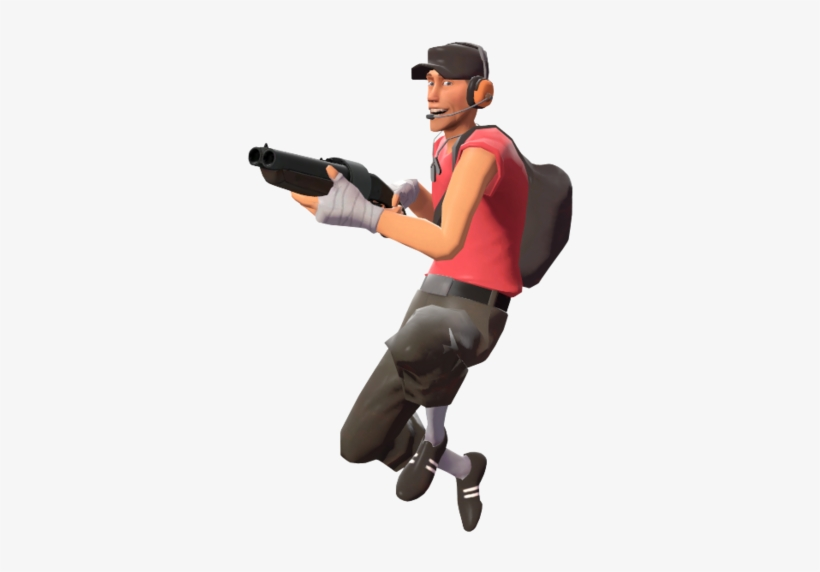 You Re A Scout After All You Re The Fastest Class In Team Fortress 2 Scout Transparent Png 500x500 Free