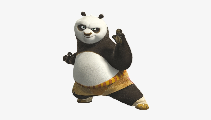 Kung Fu Panda Characters Po Transparent Png 350x400 Free Download On Nicepng