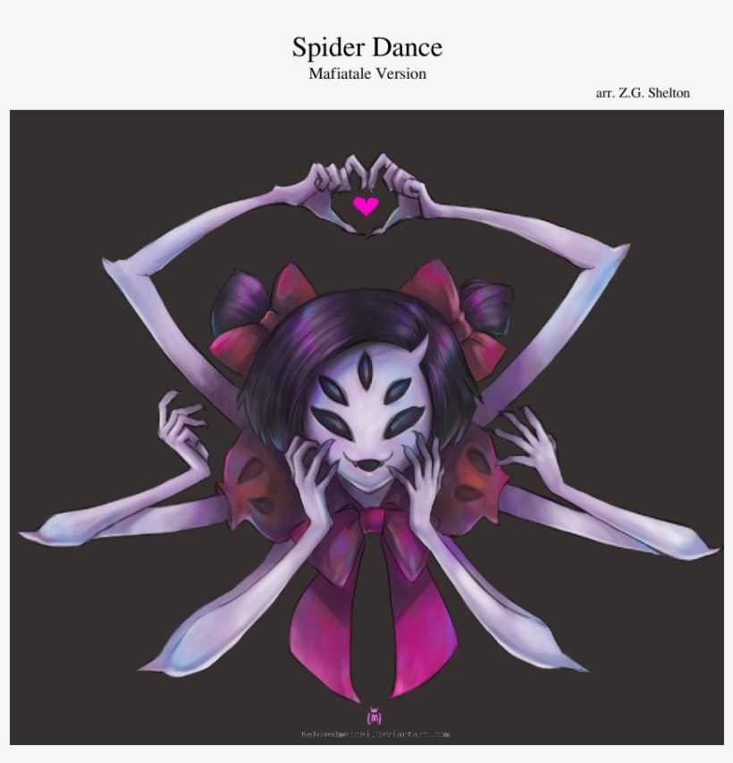 Spider Dance Sheet Music Composed By Arr - Muffet Undertale