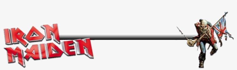 Maiden Iron Maiden Eddie Logo Png Transparent Png 1024x256