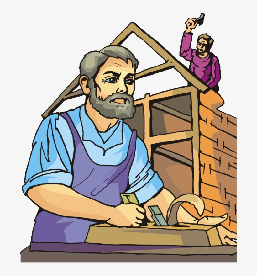 Carpenter Carpentry Woodworking - Woodworking Png , Free Transparent Clipart  - ClipartKey