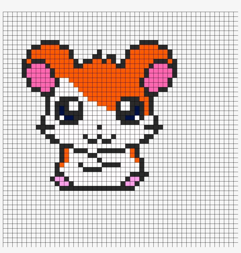 Hamtaro Perler Bead Pattern Bead Sprite Pixel Art