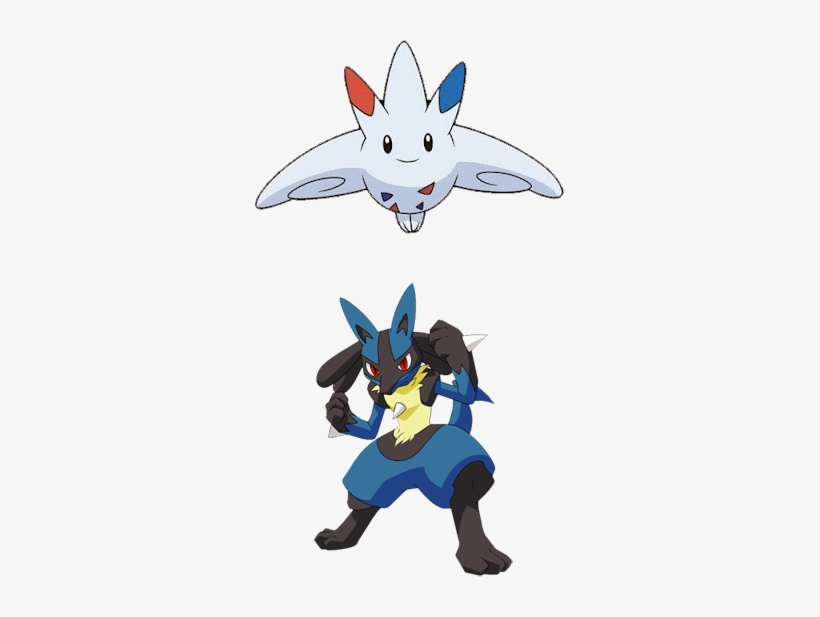 Lucario And Togekiss I Even Worked Hard In Getting Pokemon