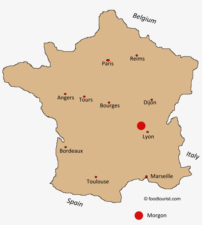 Bourges Location On The France Map - Mont Ventoux France Map ...
