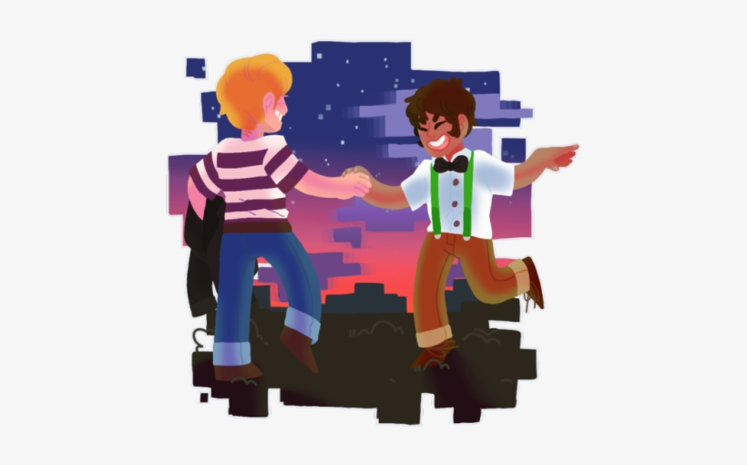 A Lot Of People Ship Male Jesse With Lukas Too So I Minecraft