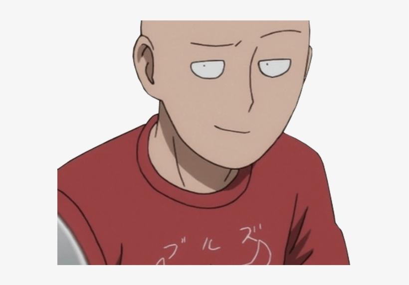 Smug Saitama Smug Anime Face Know Your Meme - One Punch Man