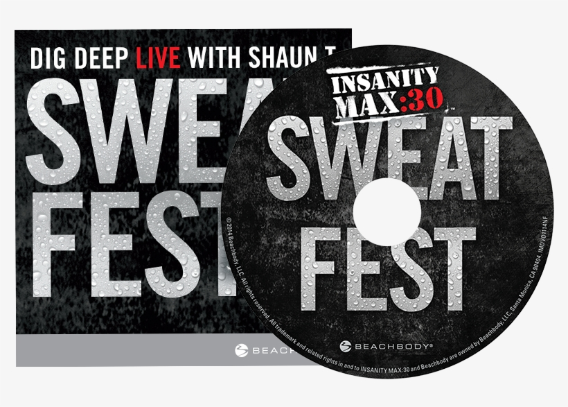 Insanity Max - 30<sup>™</sup> - Sweat Fest From Insanity Max