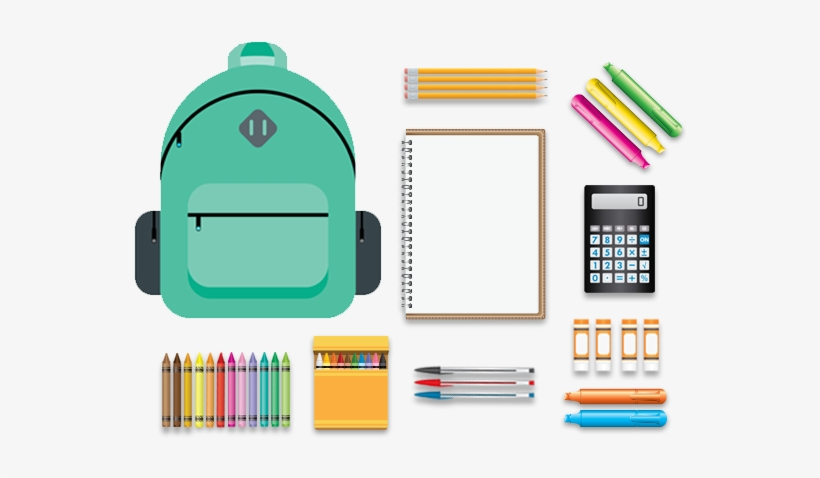 Image result for back to school school supplies png