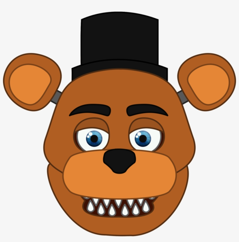 Unwithered Fredbear - Freddy Fazbear Clipart Transparent PNG