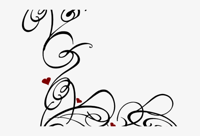 ribbon free encode clipart to base largest - ribbon swirls clipart black  and white PNG image with transparent background | TOPpng