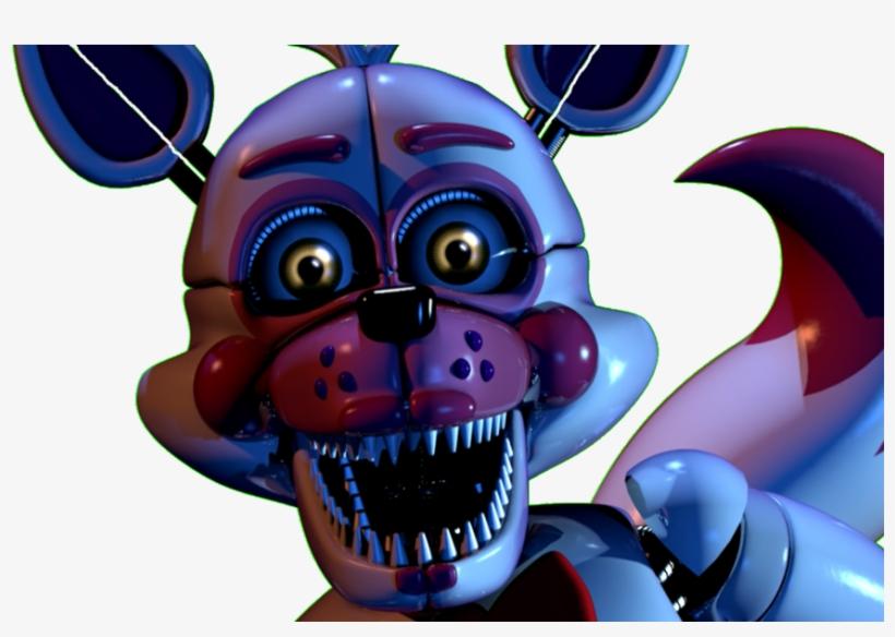 Funtime Foxy Custom Night Jumpscare Gif By - Fun Time Foxy