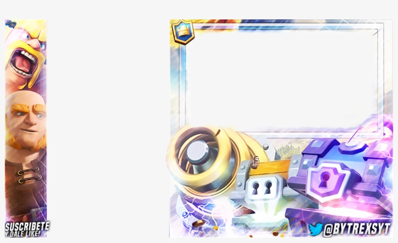 Free Clash Overlay Royale 14975 Overlays Clash Royale Templates
