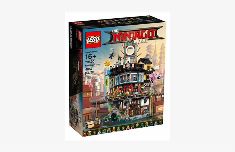 Personally I Think The Ninjago City Is One Of The Lego The