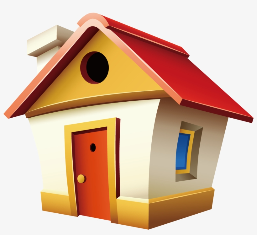 Cute House Clipart Png Casa Cartoon Png Transparent Png