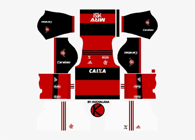 Dream League Soccer Kits - Kits Atletico Madrid 2019 Transparent PNG ... efcf6f337