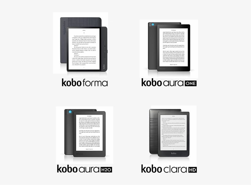Compare Kobo Ereaders Compare - Kobo Aura One - 7 8
