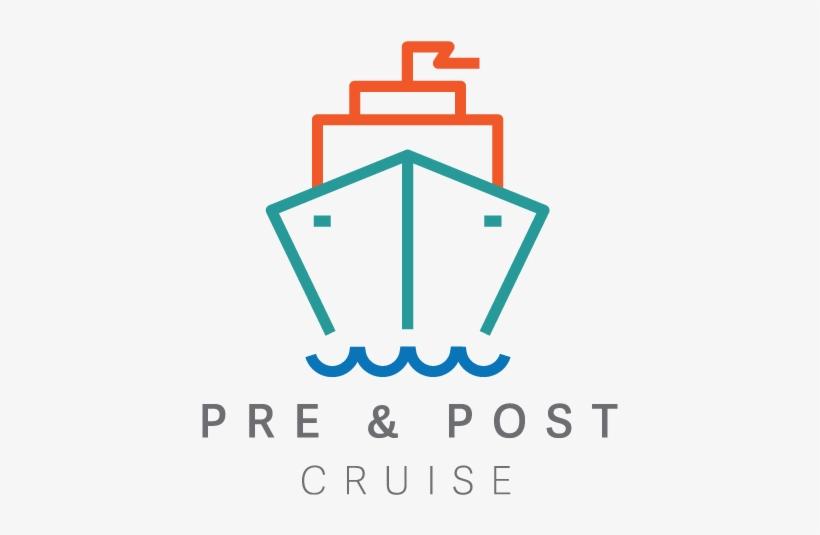 Pre Post Logo - Cruise Ship Vector Shutterstock Transparent PNG