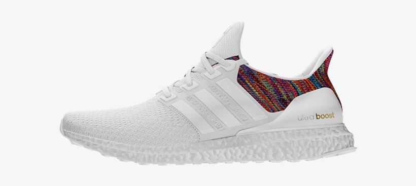 Adidas Ultra Boost White Rainbow