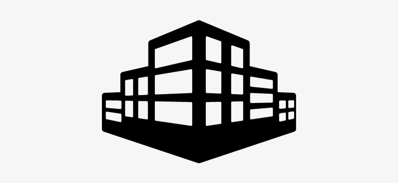Office Building Silhouette Png For Kids Building Icon White Png