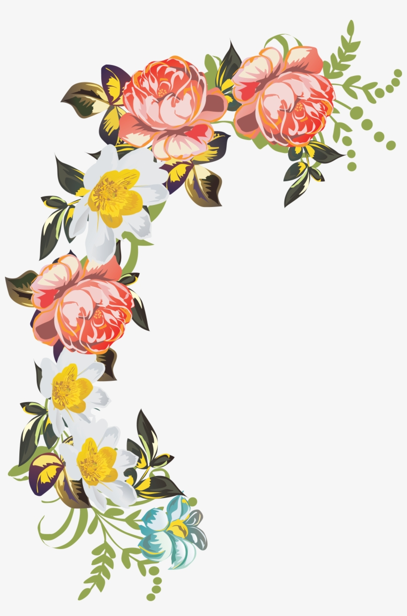 Beautiful Flowers Vector Flowers, Free Vector Graphics