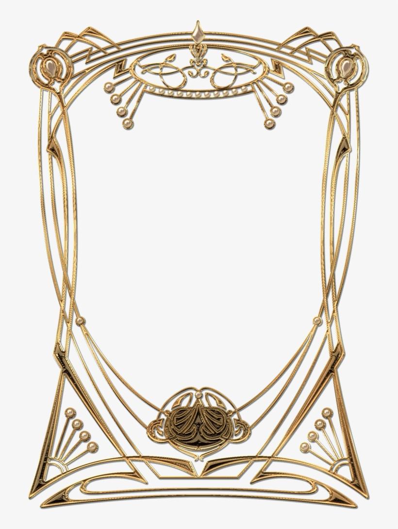 art deco frame png art deco golden frame - frame great gatsby png transparent