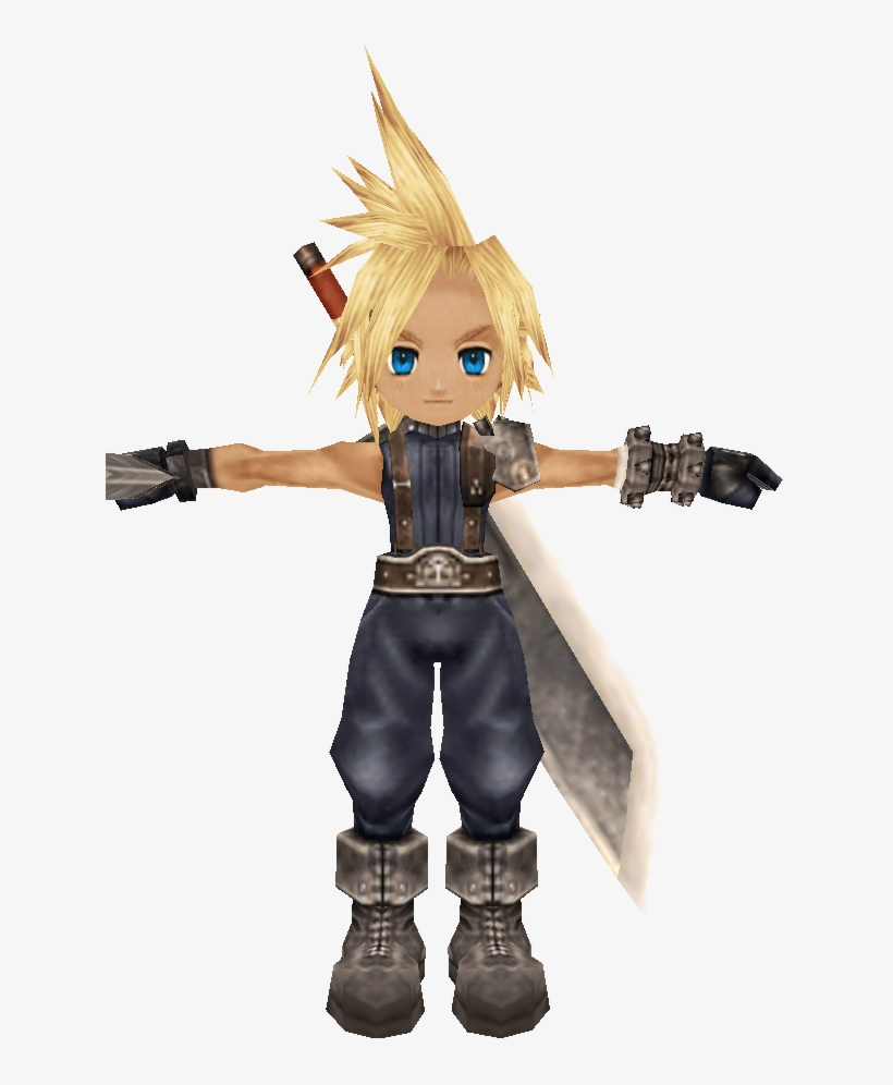 Cloud Strife Model Iss Cloud Strife Transparent Png