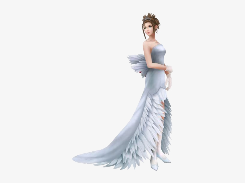 Yuna Wedding Ffx Yuna Wedding Dress Transparent Png 336x534