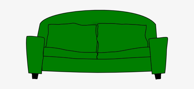 Sofa Png Green Sofa Cartoon Transparent Png 600x599 Free