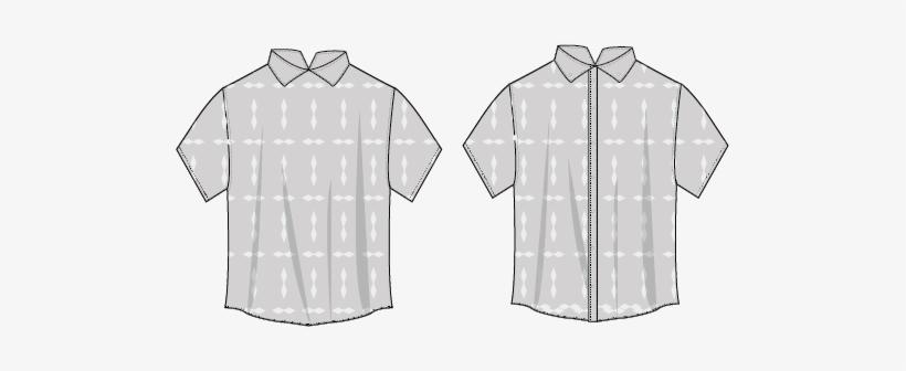 91363b2de14ad Flat Sketches - Active Shirt Transparent PNG - 501x256 - Free ...