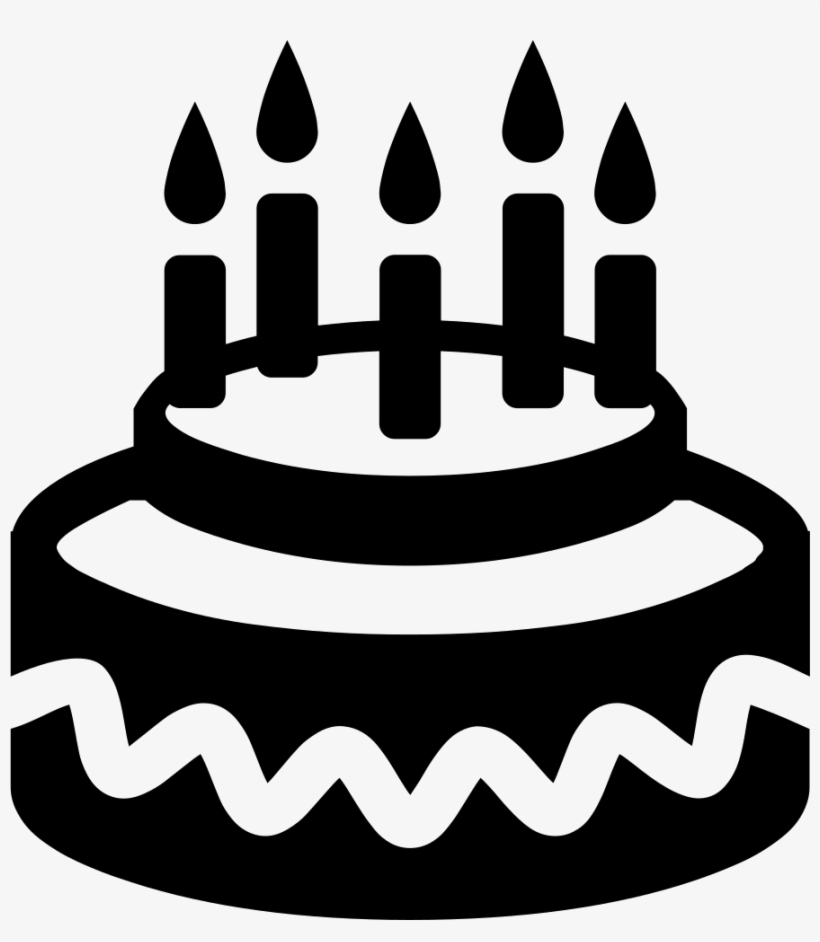 Birthday Cake Birthday Cake Icon Png Transparent Png 890x980