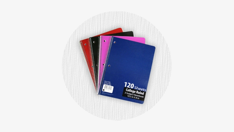 Spiral Notebook Png Back To School Store - Creative Colors
