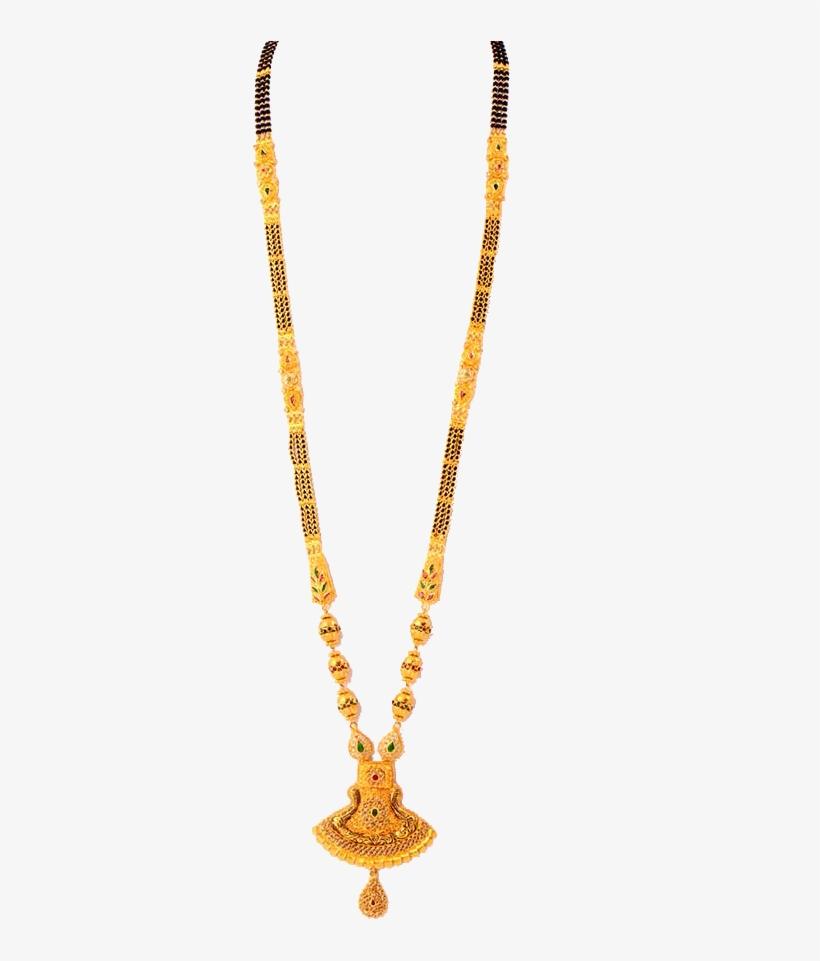Mk Ghare Jewellers Mangalsutra Designs Transparent Png