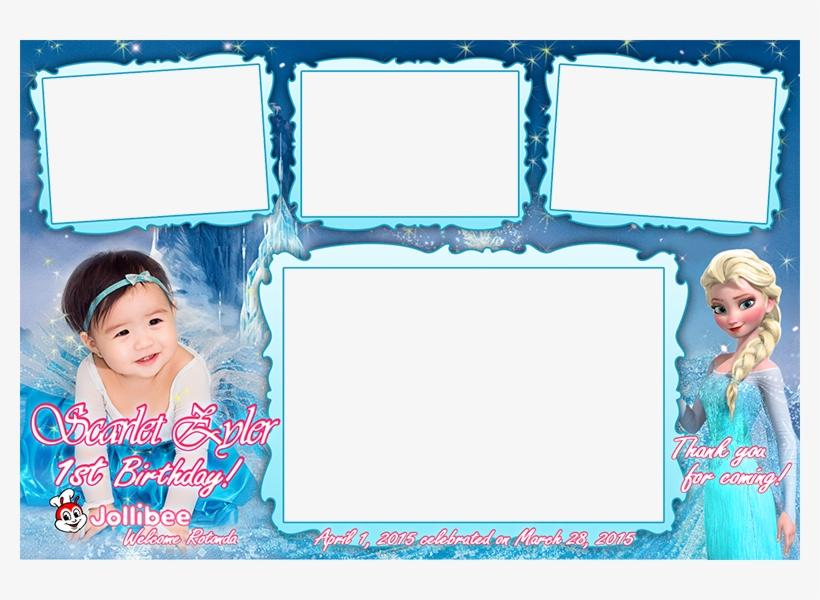 Inch 1st Birthday Invitation Frozen 1st Birthday Invitation