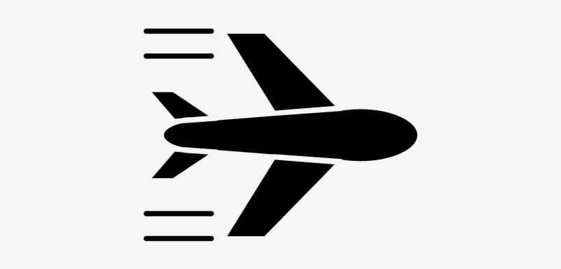 Airplane Flying Vector Airplane Silhouette Transparent Png