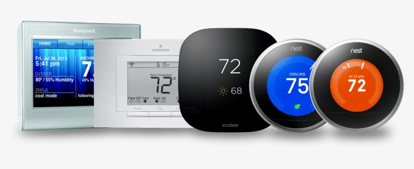 Control Away From Home - Smart Thermostats Transparent PNG