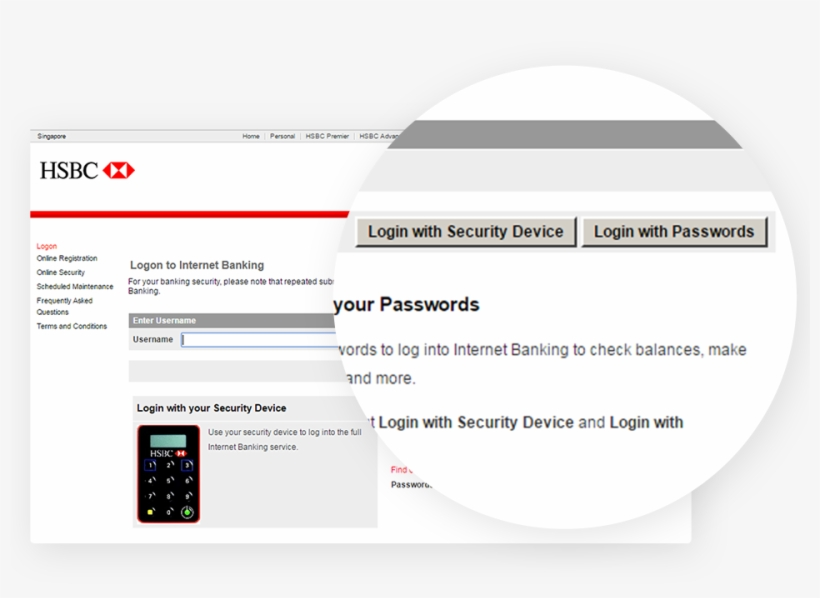 Changes To Login Page To Personal Internet Banking - Hsbc Login