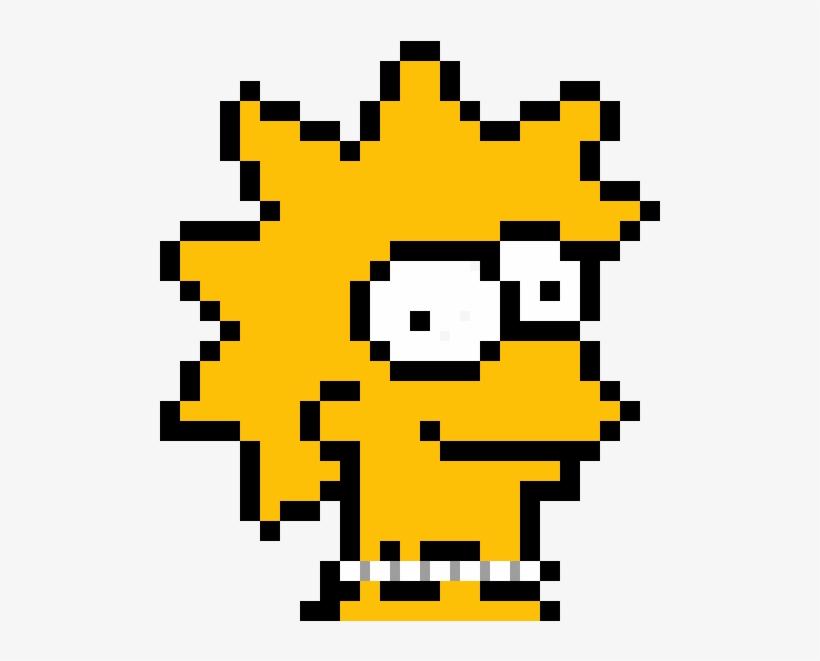 Lisa Simpson Pixel Art Simpson Lisa Transparent Png