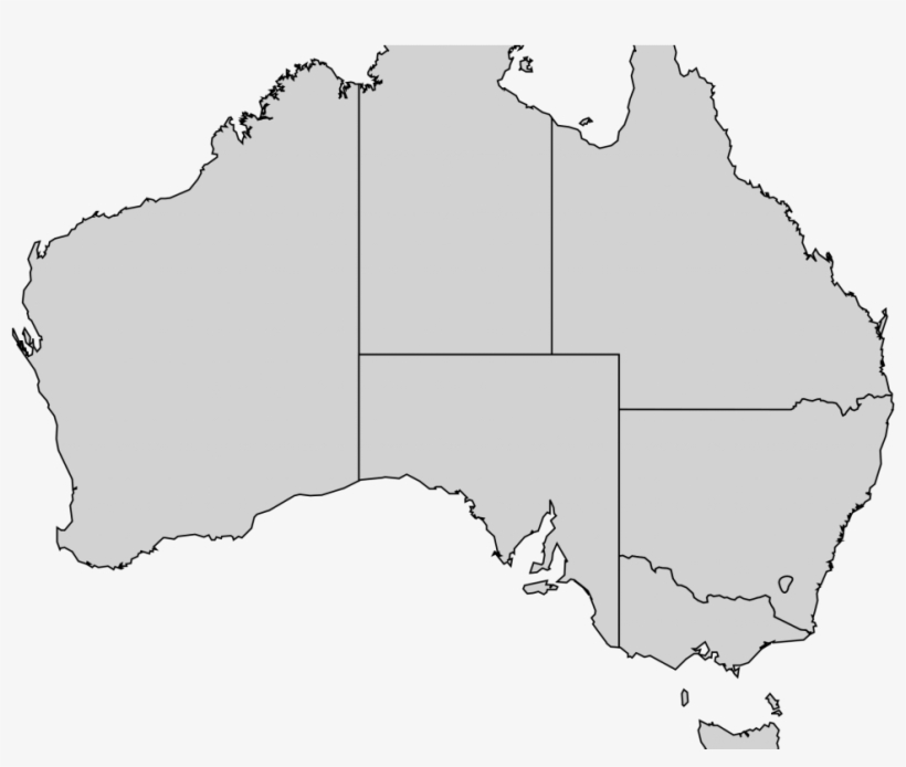 Australia Map Transparent.Download Australian States Map Australia Transparent Png