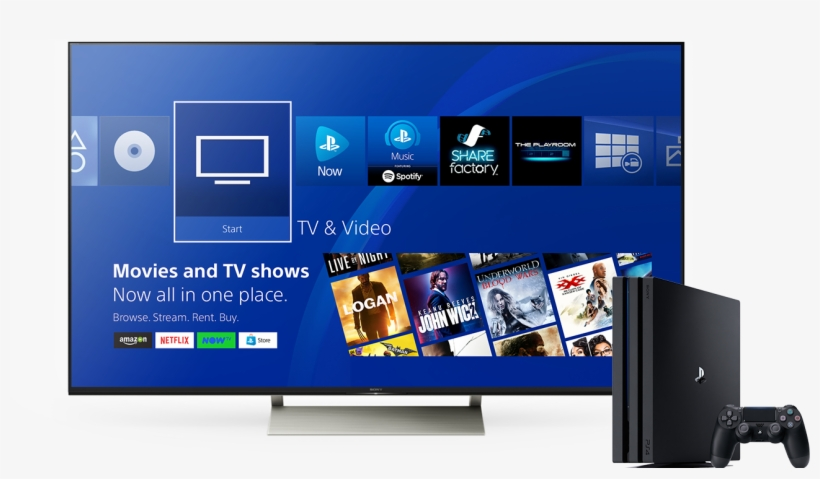 Watch Itunes Movies On Ps4 - Ps4 Tv Und Video Transparent PNG