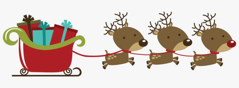 Christmas Reindeer Png.Christmas Reindeer Png Christmas Reindeers With Sleigh