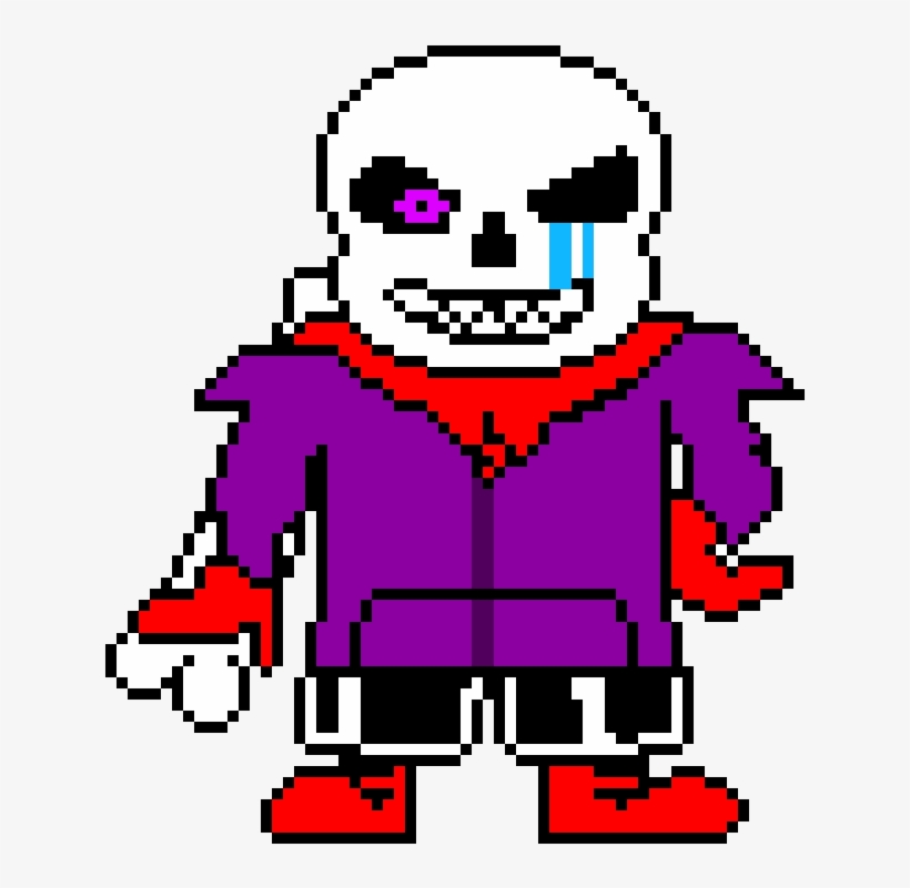 Swapfell Discord Sans Sprite Phase Undertale Tshirt White Color