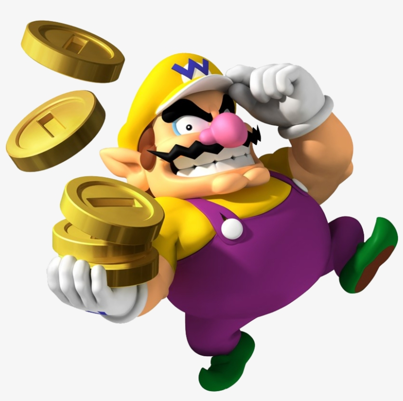 Wario - Mario Party 8 Selects Nintendo Wii Transparent PNG