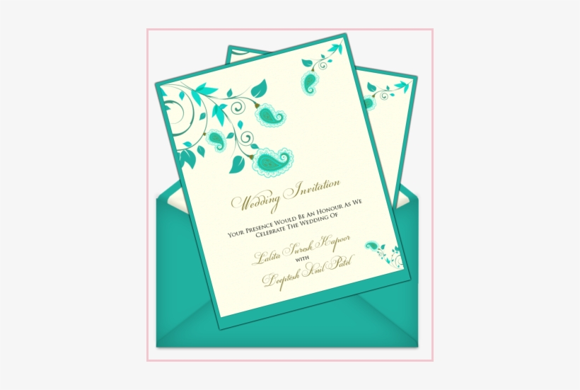 Easy Wedding Invitations Simple Invitation Cards Designs Wedding Invitation Transparent Png 406x471 Free Download On Nicepng